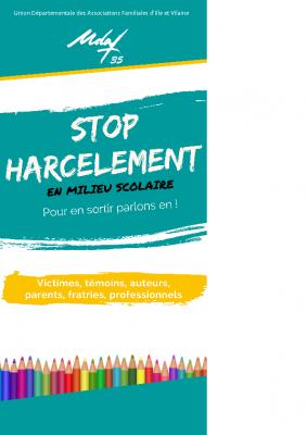 Flyer Stop Harcèlement