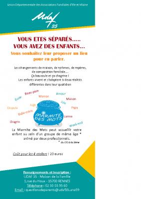 Flyer Marmite des Mots